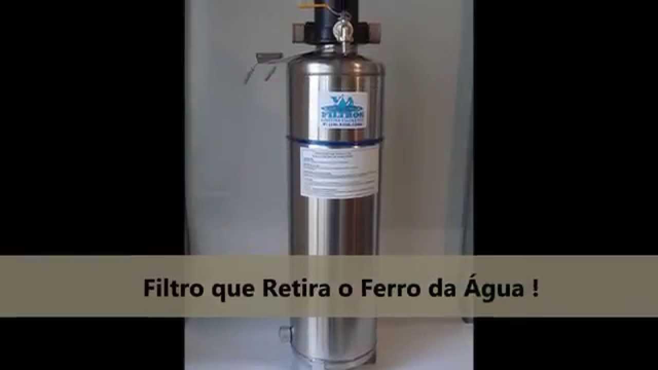 Filtro para agua ferruginosa filtro que retira ferro filtro para ferro youtube - Filtros para grifos de agua ...