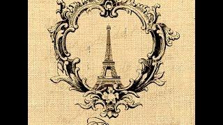 Винтажные изображения на тему Парижа