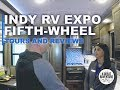 Not a fifth wheel for a half-ton, but a fifth wheel with a luxury kitchen!
