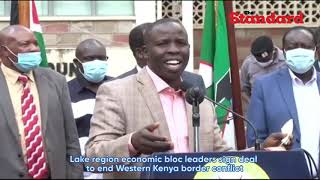 Lake region economic bloc leaders sign deal to end Western Kenya border conflict
