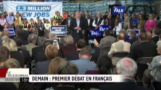 Premier débat des chefs en français