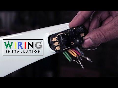 Vespa Wiring Harness Installation