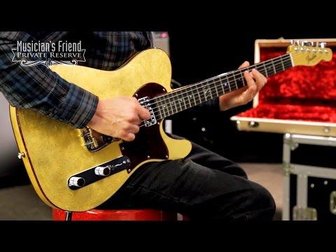 Fender Custom Shop 2017 Prestige Collection Gold Leaf NOS Telecaster Masterbuilt by Yuriy Shishkov