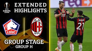 LOSC vs. AC Milan: Extended Highlights | UCL on CBS Sports