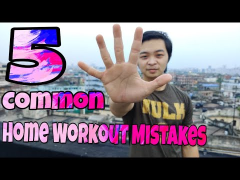 5 Common Home Workout Mistakes Sabotaging your Gains! | Brandon Lee Fitness