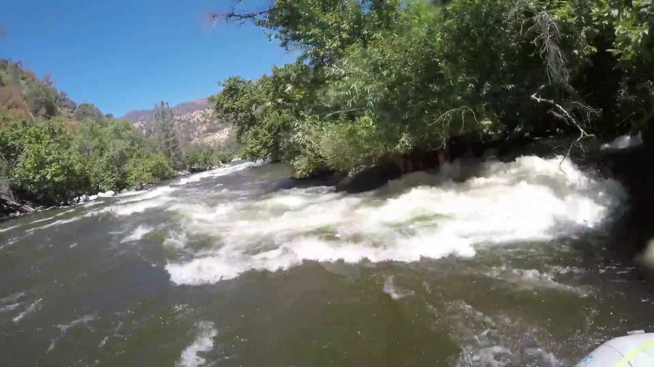 Fish traps rapids lower kern river july 2017 youtube for Kern river fishing