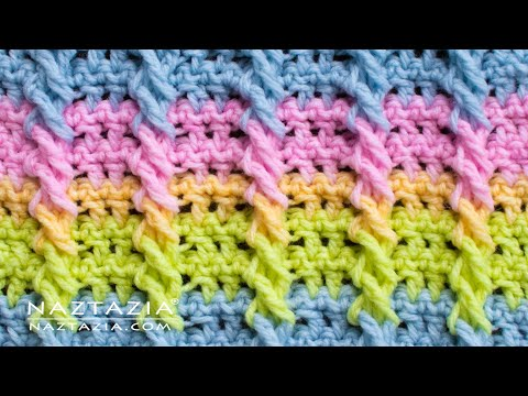 How To Crochet Cable Stitch - Crochet Cables And Braids By Naztazia