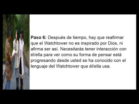 Como Rescatar Sus Amados De La Watch Tower Bible And Tract Society Of Pennsylvania
