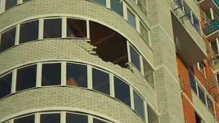 разрушена лоджия в результате небольшого порыва ветра в Оренбурге(, 2013-06-13T17:20:11.000Z)