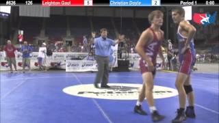 Baixar Fargo 2012 126 Round 2: Leighton Gaul (Iowa) vs. Christian Doyle (Texas)