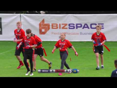 Britbowl 2016 u12 Final - Chorley Bucs v London Blitz