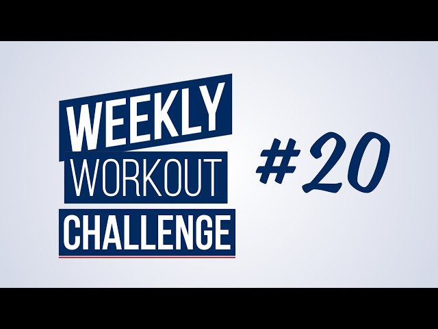 Weekly Workout Challenge #20 | Renaud Center