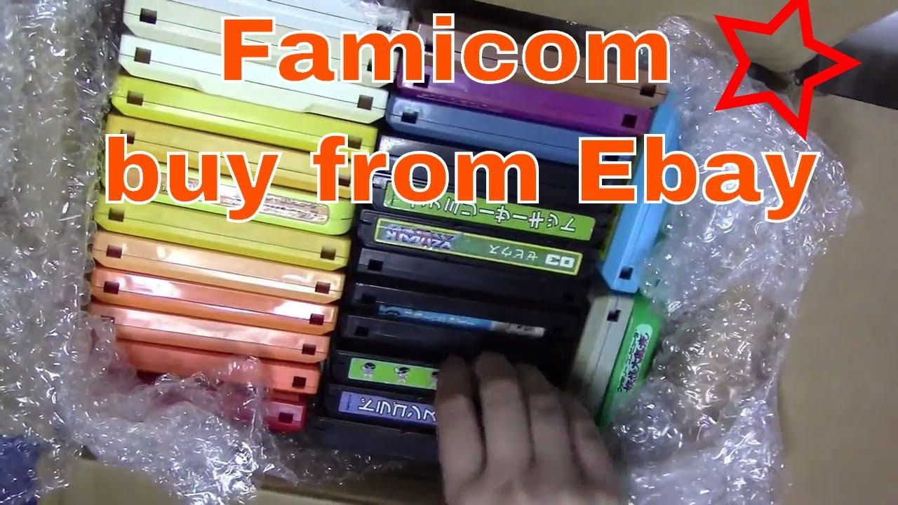 Nintendo Famicom Games from Ebay