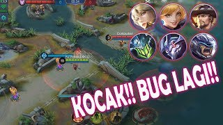 MOBILE LEGENDS BUG BUG - 5 HERO NGEBUG