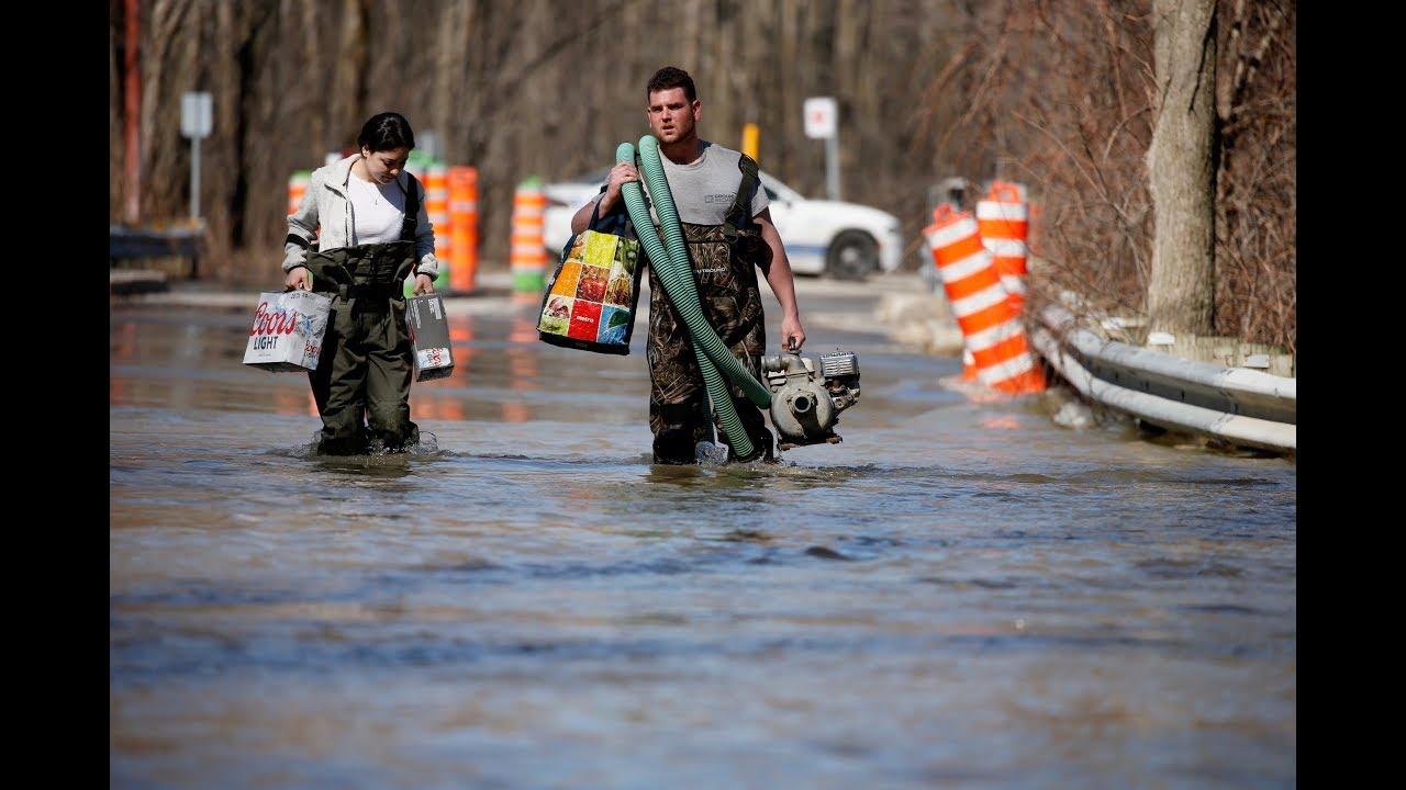 Avril 2019: Inondations : des sinistrés découragés