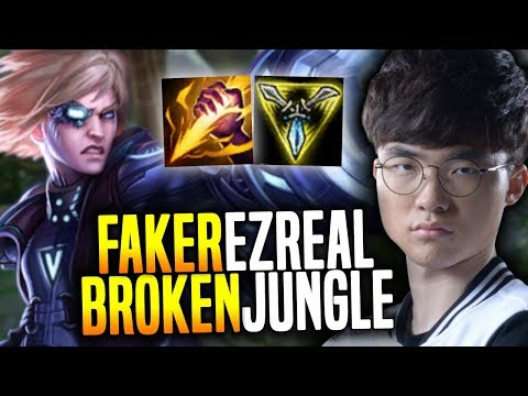 Faker Showing Why Ezreal Jungle New Meta is OP! - SKT T1 Faker SoloQ Playing Ezreal Jungle! | SKT T1