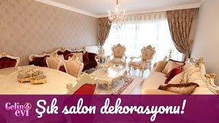 Ceren Hanım'ın şık salon dekorasyonu!