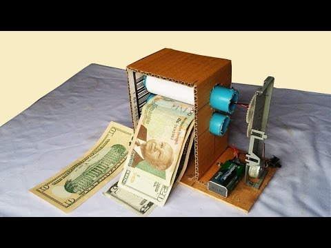How to make Money Printer Machine Magic Trick simple - so fun machine