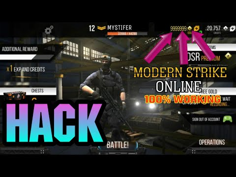 Modern Strike Online Mod Apk V1.30.0 (No Root, Unlimited Ammo/Money) Download For Android 2019