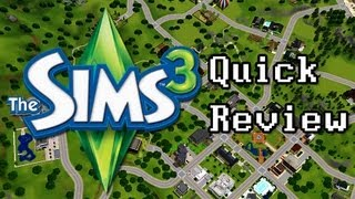 LGR - The Sims 3 Quick Review - Top 5 Reasons To Buy (Video Game Video Review)