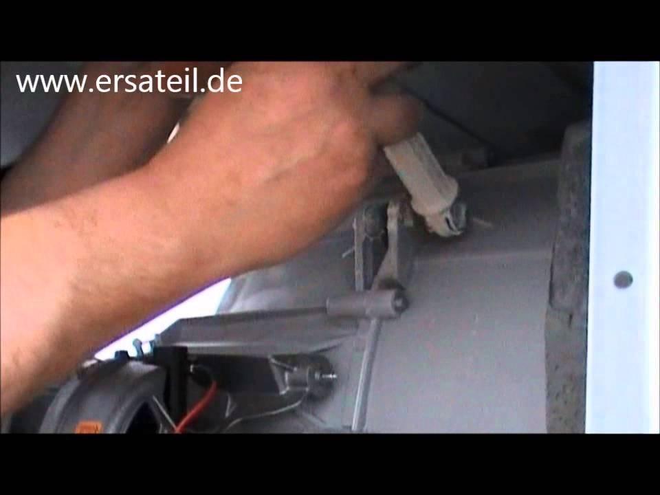 waschmaschine stoßdämpfer wechseln anleitung