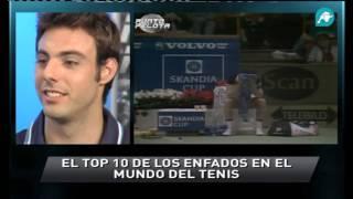 El ránking de los mayores enfados del tenis comentados por Granollers y López - Punto Pelota