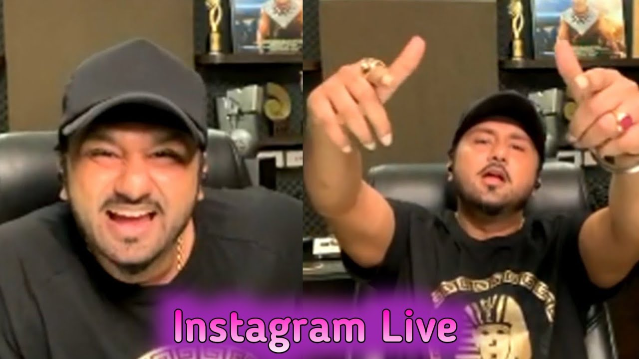 Yo Yo Honey Singh Live Session On Instagram | Talking About His Wife And School life