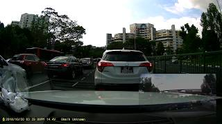 The driver of SLF1989S is driving in an inconsiderate and reckless ...