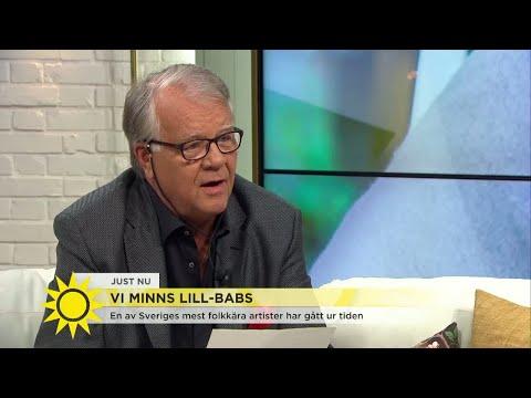 Hör Lasse Berghagens dikt till Lill-Babs – som får Tilde att gråta - Nyhetsmorgon TV4
