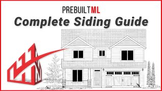 A Siding Take-off from Start to Finish