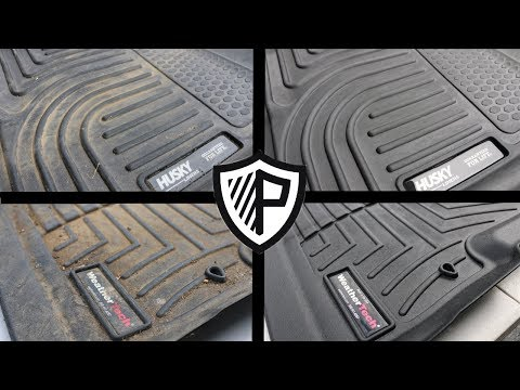 How to Clean all types of Rubber Floor mats and liners! FINALLY SPONSORED