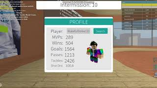 Roblox Kick Off(How to use your trickshot as your celebration GLITCH!)