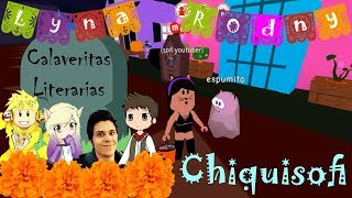 literary skulls for youtubers Łyna Rodny Cerso Rubius of Chiquisofi in Roblox mp4