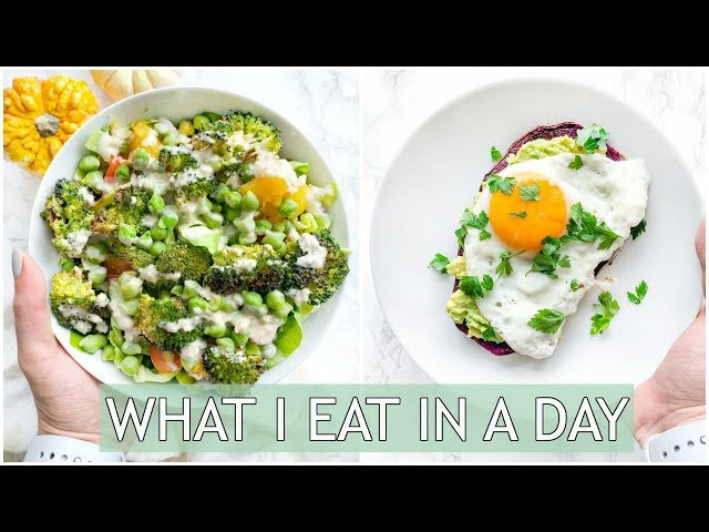 What I Eat In A Day for ENERGY   Healthy Meal Ideas