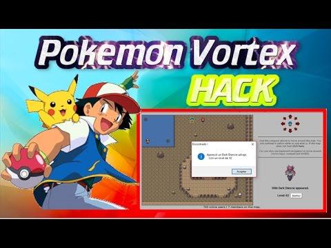 Hack para encontrar legendarios en pokemon vortex...
