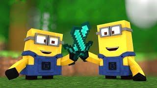 Top 5 Minions Minecraft Animations  Minecraft Videos