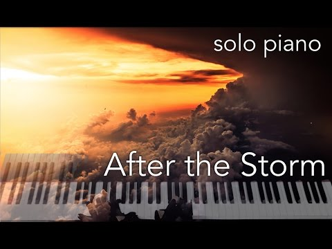 After the Storm  original composition for solo piano with free sheet music