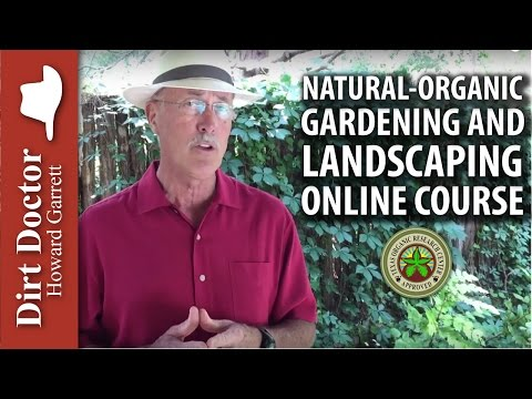 Natural-Organic Gardening & Landscaping Online Course
