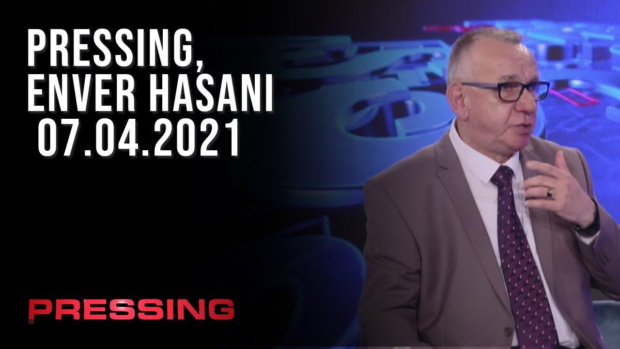 PRESSING, Enver Hasani - 07.04.2021