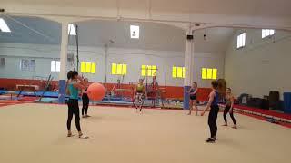 Pallavolo CHALLENGE ginnastica artistica csb