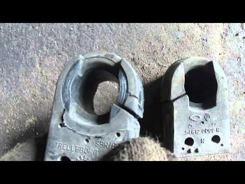 Втулки стабилизатора 2 Рено Флюенс