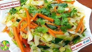 ✅ Thật Đơn Giản Với Bắp Cải Xào Chay Dễ Nấu Mà Cực Ngon Theo Cách Này   Hồn Việt Food
