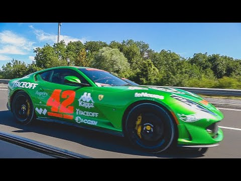 The $49,000 Ferrari PAINT Job! Verde HyKers Ferrari 812 Supe