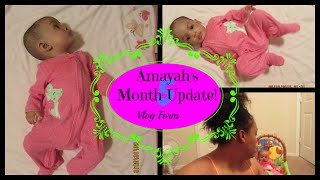 5 MONTH UPDATE |BREAST-FEEDING | BABY SCHEDULE | FORMULA | DAILY VLOG | Mommyandkailyn