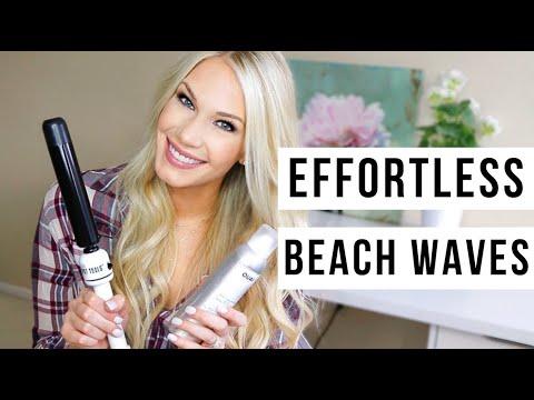 HOW TO: EFFORTLESS BEACH WAVES HAIR TUTORIAL