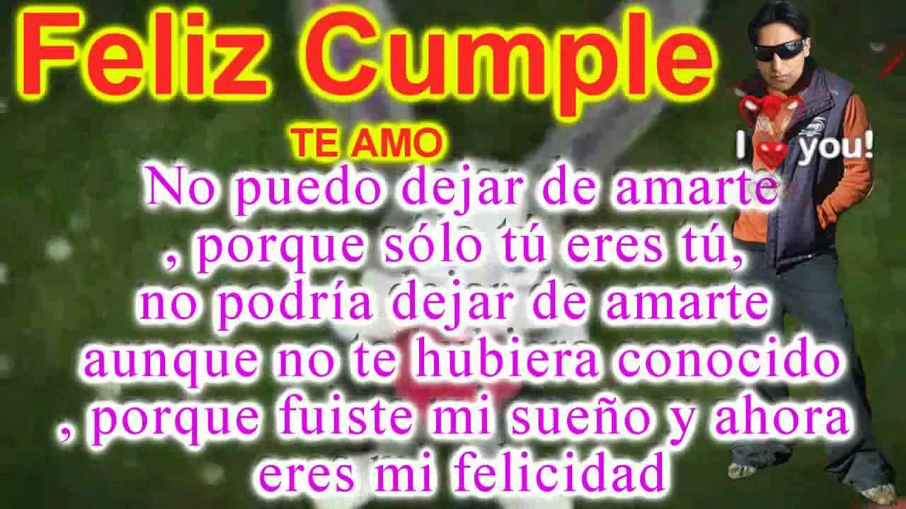Feliz Cumpleanos Happy Birthday Frases Piropos Mensajes De Amor