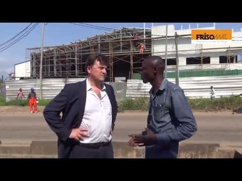 About Building a Car Workshop and Showroom in Congo - Frisomat Steel Buildings