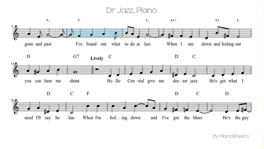 Dr Jazz [Piano Solo] - YouTube