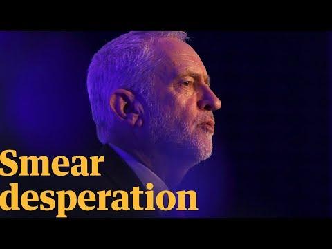 The Jeremy Corbyn spy smear is desperate | Owen Jones talks