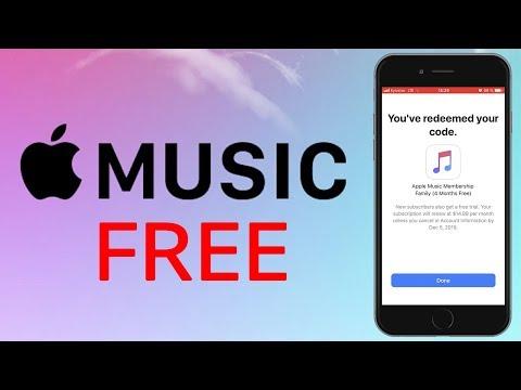Бесплатно Apple Music Купон на 4 месяца
